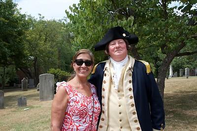 Erika and George Washington