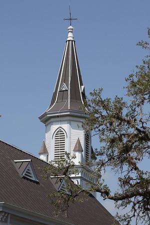 Saints Cyril and Methodius - Dubina, Texas, Tom Lee's Cross.