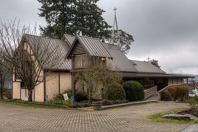 """All Saints' by-the-Sea - Salt Spring Island Please visit our blog """"Anglican Churches of Salt Spring Island"""" for the story behind the photo."""