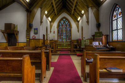 """Christ Church Anglican Church - Alert Bay, Cormoront Island, British Columbia, Canada  Visit our blog """"Christ Church Anglican Church - Alert Bay"""" for the story behind the photo."""