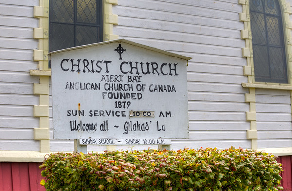 Christ Church Anglican Church - Alert Bay, Cormoront Island, British Columbia, Canada