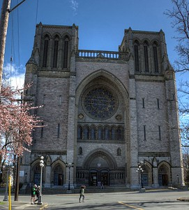 """Christ Church Cathedral - Victoria, BC, Vancouver Island, Canada Visit our blog """"Christ Church Cathedral Victoria"""" for the story behind the photo."""