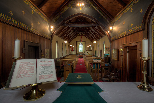 Holy Trinity Anglican Church - North Saanich, Vancouver Island, British Columbia, Canada