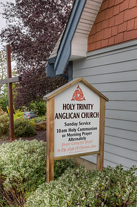 Holy Trinity Anglican Church - Sooke, Vancouver Island, British Columbia, Canada