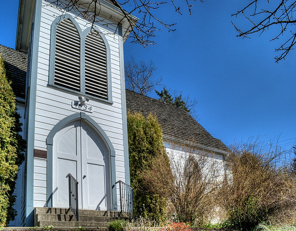 Saint Andrew's Anglican Church - Courtenay, BC, Canada