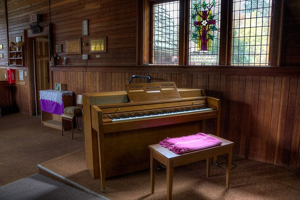 Interior Photographs - St. Andrews Anglican Church - Cowichan Station, Vancouver Island, BC, Canada
