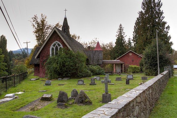 St. Andrews Anglican Church - Cowichan Station, Vancouver Island, BC, Canada