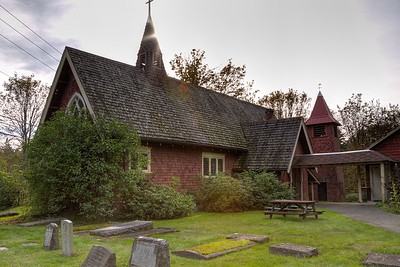"""St. Andrews Anglican Church - Cowichan Station, Vancouver Island, BC, Canada Visit our blog """"A Home For The Toads"""" for the story behind the photo."""