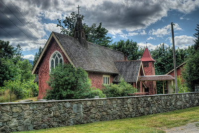 """St. Andrews Anglican Church - Cowichan Station, Vancouver Island, BC, Canada Visit our blog """"St. Andrews at Cowichan Station"""" for the story behind the photo."""