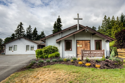 St Anne and St Edmund Anglican Church - Parksville, Vancouver Island, British Columbia, Canada