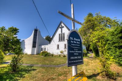 St David by the sea - Cordova Bay, Vancouver Island, British Columbia, Canada