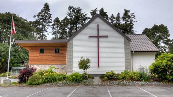 "St. George's Anglican Church - Cadboro Bay, Victoria, Vancouver Island, British Columbia, Canada  Visit our blog ""St. George's Anglican Church"" for the story behind the photo."