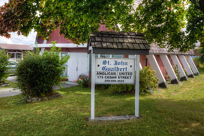 """St. John Gualbert Anglican United Church - Port McNeill, Vancouver Island, British Columbia, Canada  Visit our blog """"Port McNeill - Day One"""" for the story behind the photo."""