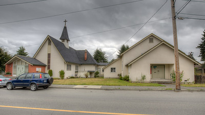 St. John's Anglican Church - Duncan, Vancouver Island, British Columbia, Canada
