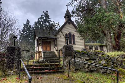 """St Mark's - Salt Spring Island Please visit our blog """"Anglican Churches of Salt Spring Island"""" for the story behind the photo."""