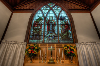 St Michael & All Angels Anglican Church - Chemainus, Vancouver Island, British Columbia, Canada