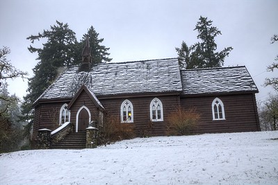 """The Anglican Parish of St. Peter, Quamichan - Cowichan Valley, Vancouver Island, BC, Canada Please visit our blog """"St. Peter's Quamichan"""" for the story behind the photo."""