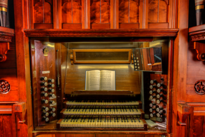 Heritage Pipe Organ Built in 1891 - The Anglican Parish of St. Peter and St. Paul - Victoria, Vancouver Island, BC, Canada