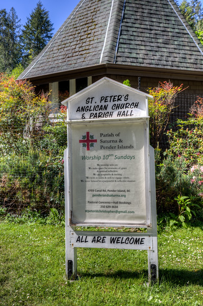 St Peter's Anglican Church - Pender Island