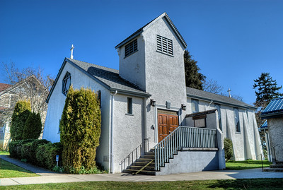 """Saint Peter's Anglican Church - Comox, BC, Canada Visit our blog """"St. Peter's Anglican Church"""" for the story behind the photo."""
