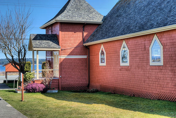 Union Bay Community Church - Union Bay, BC, Canada
