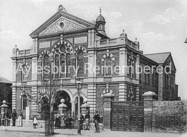 Wesleyan Church, Buckingham Street, c1900