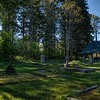 Westholme Cemetery - All Saints Anglican Church - Crofton BC Canada