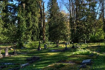 Westholme Cemetery - All Saints Anglican Church - Crofton BC Canada