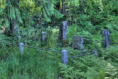 """Westholme Cemetery - All Saints Anglican Church - Crofton BC Canada Visit our blog """"A Peaceful Visit With History"""" for the story behind the photos."""