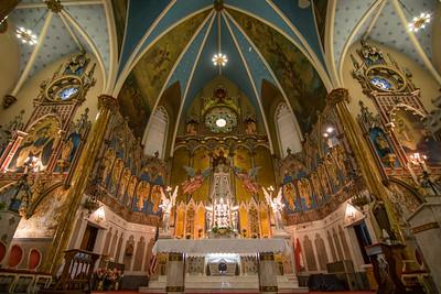 St. Albertus Roman Catholic Church Interior