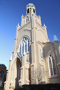 Congregation Mickve Israel Sinagogue founded 1733 Monterey Square Savannah, GA  12/2012