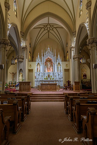 St. Mary of the Mount interior