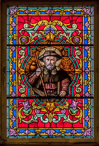 Window of Cathedrale Marie-Reine-du-Monde