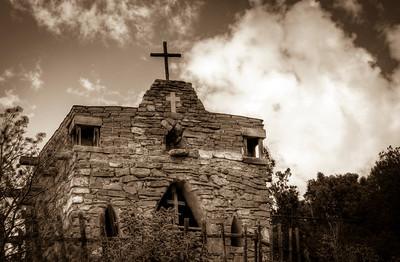 Cerro Gordo Chapel (La Capilla de San Ysidro Labrador), New Mexico