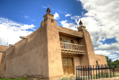 San Jose de Gracia Catholic Church, Las Trampas, New Mexico