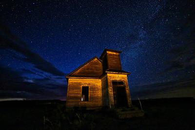 Taiban Church under the Stars