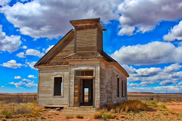Abandoned Church in Taiban