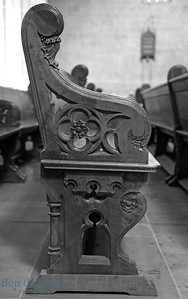 St. Pierre Cathedral pews