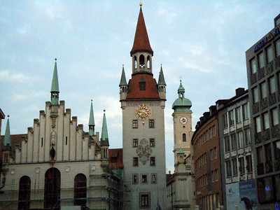 St. Peter's and St. Georg Churchs in Munich