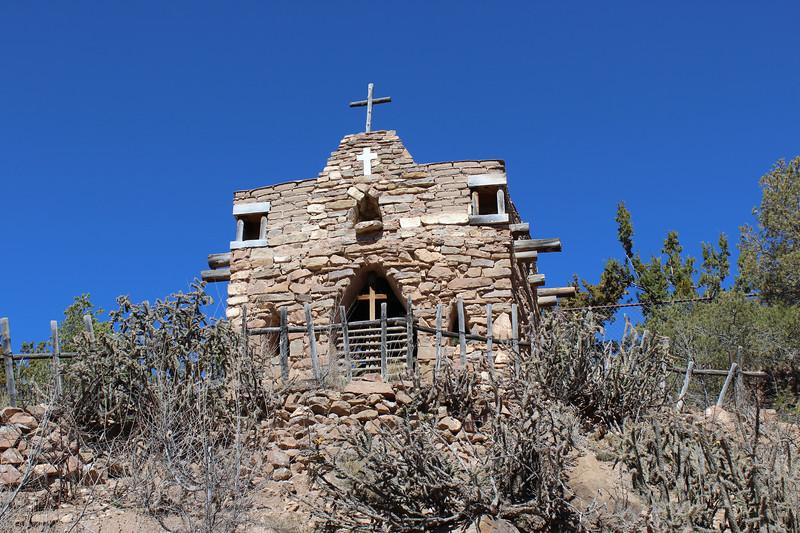La Capilla De San Ysidro Labrador (Chapel of San Ysidro, the Plowman)