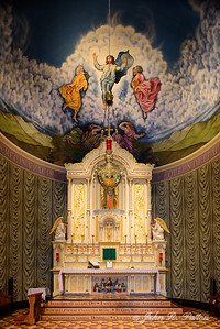 Queen of Peace main altar