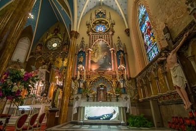 St. Albertus Roman Catholic Church Interior 2