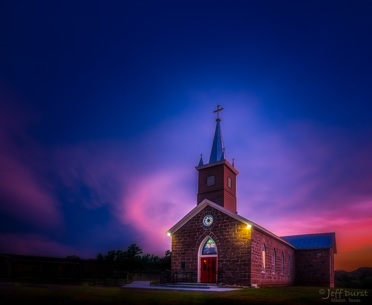 Catholic Church Halo Sunset-1-1-245