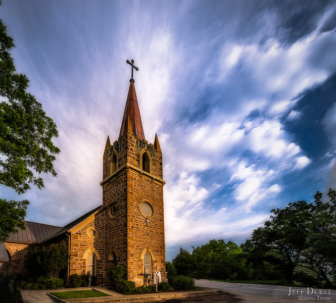 lutheran Church Sunrise May 2018