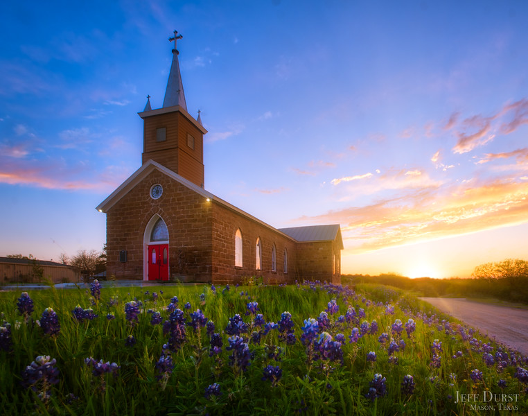Catholic Church Bluebonnet Sunset Road