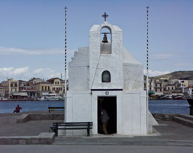 aegina-harbor-church
