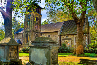 St Pancras Old Church and Cemetery London, England