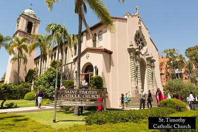 St. Timothy's Catholic Church.  www.sttimothyla.org.  Photo by HireVP.com