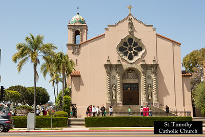 St. Timothy's Catholic Church.  www.sttimothyla.org.  Photo by HireVP.com