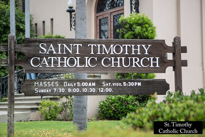 St. Timothy Catholic Church.  www.sttimothyla.org.  Photo by HireVP.com